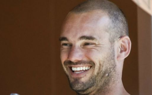 Afbeelding: Sportpark vernoemd naar verbaasde Sneijder én lintje: