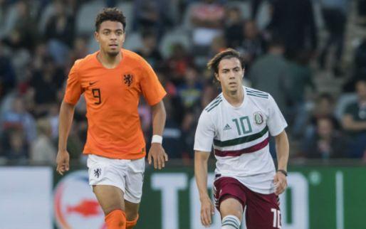 Afbeelding: Malen dolt met vermeend PSV-doelwit bij Jong Oranje:
