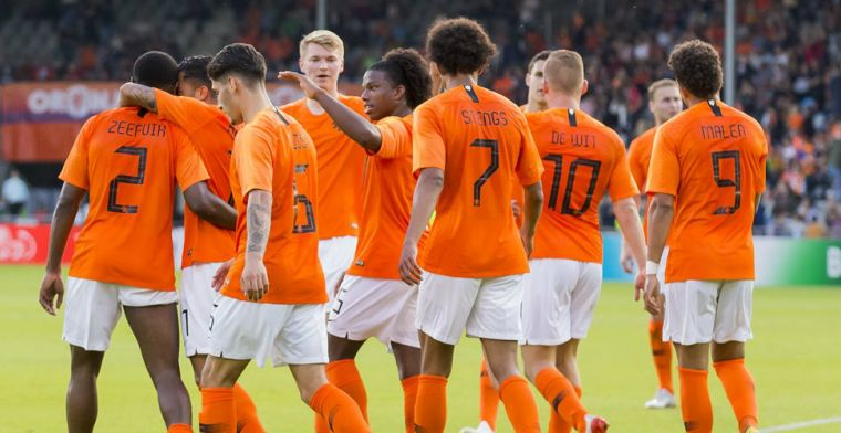 Malen en Stengs leiden ontketend Jong Oranje naar dikke zege in Doetinchem