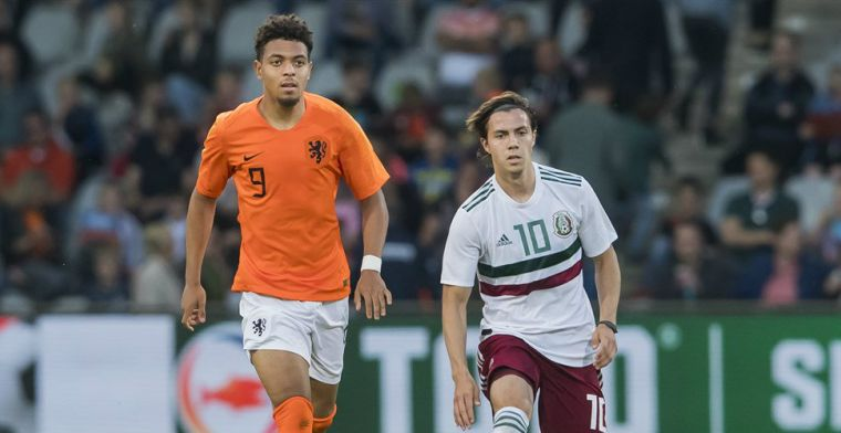 Malen dolt met vermeend PSV-doelwit bij Jong Oranje: Oh, kom je naar ons?
