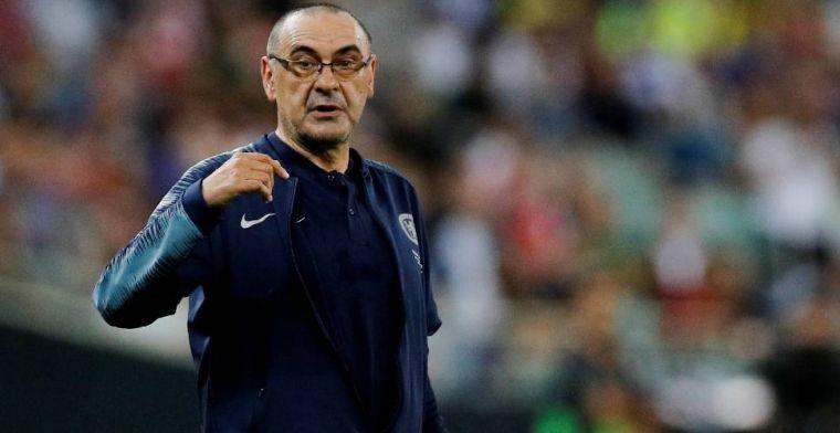 'Sarri praat met Chelsea-directeur en dient officieel transferverzoek in'