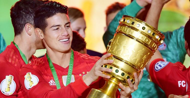 James vertrekt bij Bayern München: 'Besloten de optie niet te lichten'
