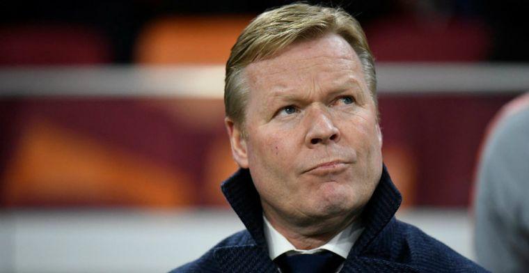 Koeman: 'Jammer voor Ajax en PSV, zij moeten wekelijks op hoger niveau spelen'