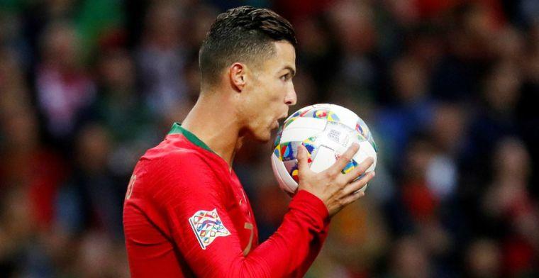Ronaldo dirigeert Portugal met hattrick naar eerste Nations League-finale
