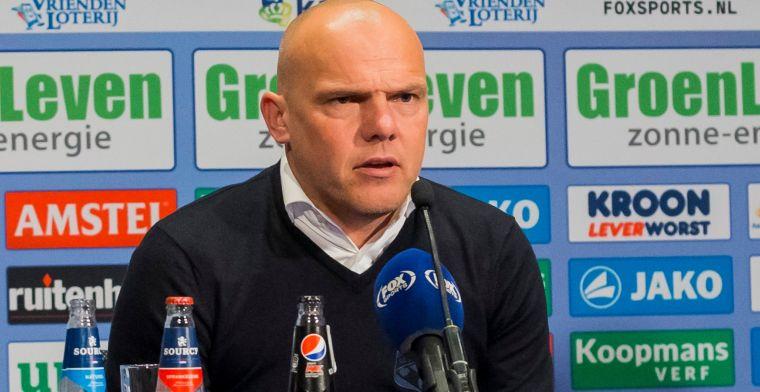Twee Transferprioriteiten Voor Heerenveen: 'Europees
