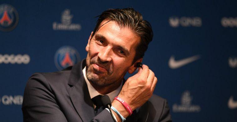 Frans avontuur blijft beperkt tot één seizoen: Buffon verlaat Paris Saint-Germain