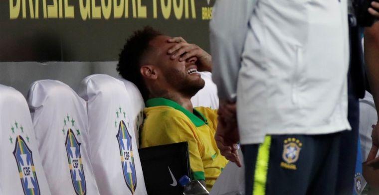 Update: Neymar zo'n vier weken aan de kant, Willian vervangt hem bij Brazilië