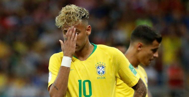 Video van Neymar en Braziliaanse vrouw lekt uit: 'Ga je me slaan?'