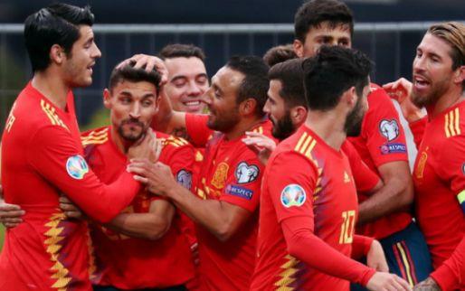 Afbeelding: EK-kwalificatie: eenvoudige zege Spanje, Tadic en Servië krijgen pak slaag