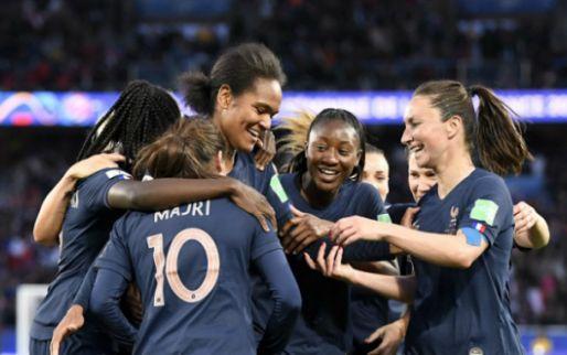 Afbeelding: Frankrijk begint wervelend aan WK vrouwen en zet Zuid-Korea eenvoudig opzij
