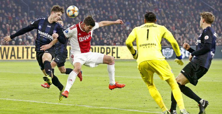 'Toen ik bij Ajax tekende zat Overmars met een blik energy en half slapende ogen'