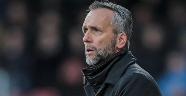 'Ik heb mijn contract ingeleverd en hoopte dat we in de Eredivisie zouden blijven'