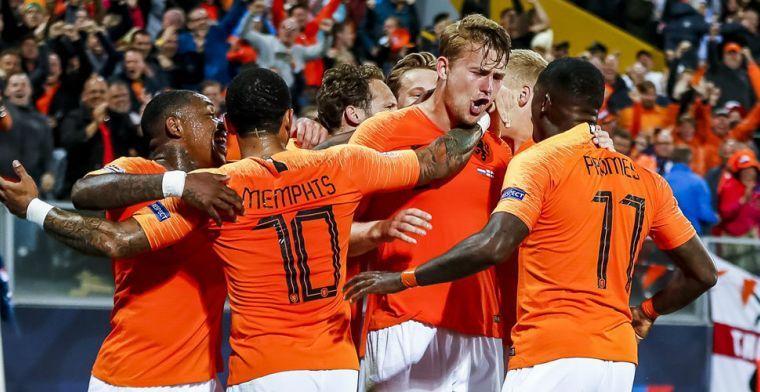 Waarom Oranje vóór invalbeurt Van de Beek te weinig bezetting in voorste linie had
