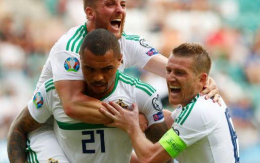 Afbeelding: Noord-Ierland wint in groep met Nederland; Oranje nu op zes punten achterstand