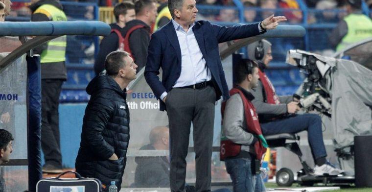 Montenegrijnse bondscoach laat EK-kwalificatieduel schieten en wordt ontslagen