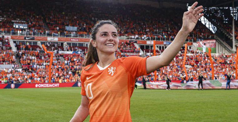 'Scriptiestress' voor Leeuwin Van de Donk: 'Wil het voor de wedstrijd af hebben'