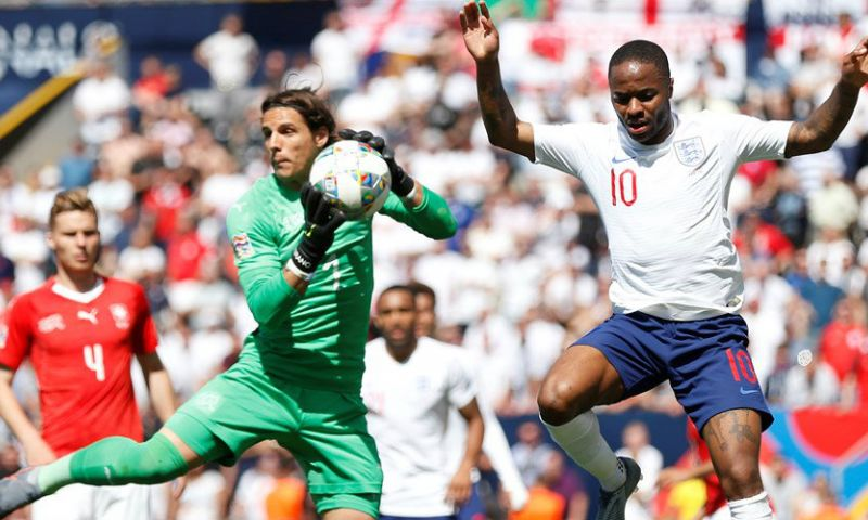 Afbeelding: Engeland rekent in troostfinale Nations League na strafschoppen af met Zwitserland