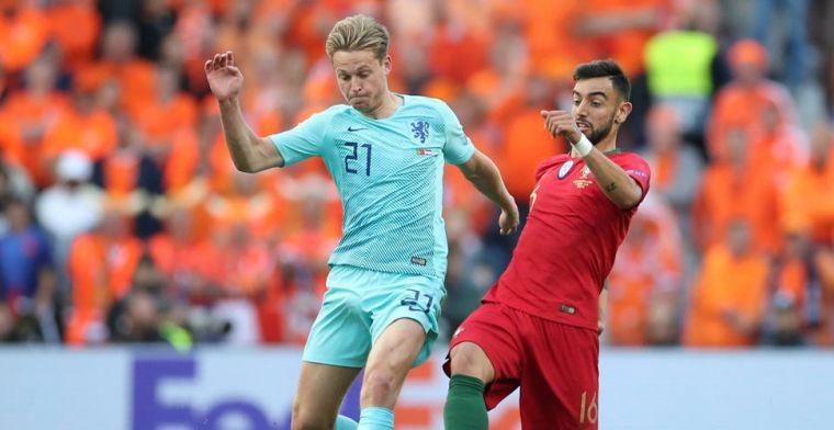 Frenkie de Jong niet met lege handen op vakantie: prijs na Nations League-finale