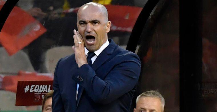 Martinez denkt aan wissel tegen Schotland: Die positie is zeer veeleisend