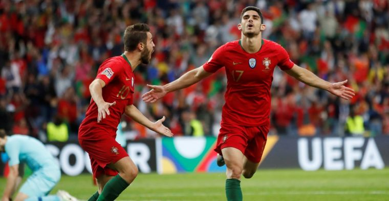 Portugal verslaat Oranje in bloedeloze finale en wint eerste editie Nations League