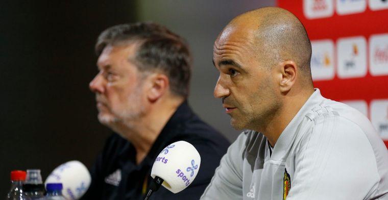 Martinez gaat niet experimenteren tegen Schotland, Mertens opnieuw wedstrijdfit