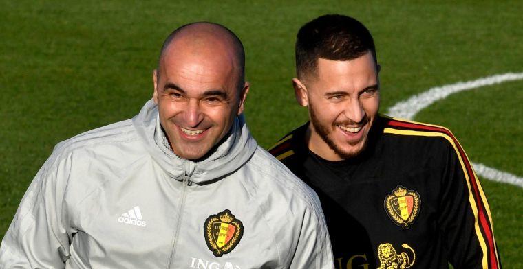 Martinez haalt loftrompet voor Hazard nog eens boven: Voorbeeld voor iedereen