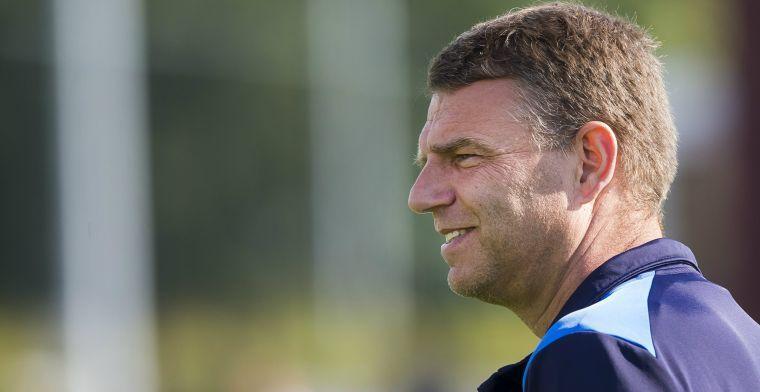 Update: 'Ulderink krijgt slecht nieuws van Go Ahead en wordt geen hoofdtrainer'