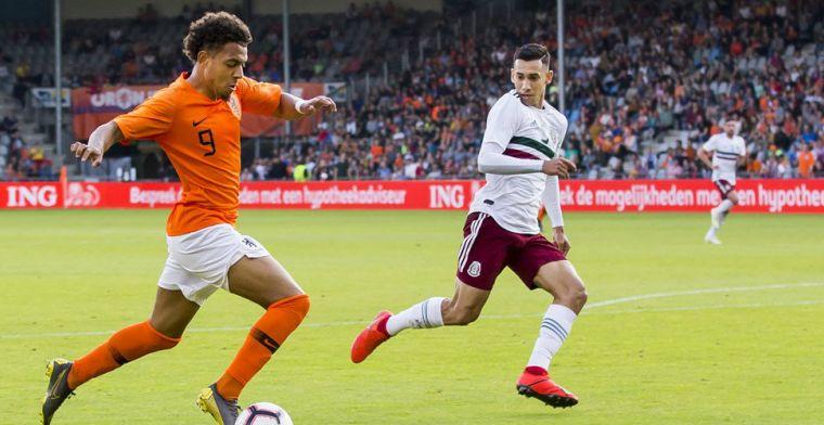 De Boer: 'Hij heeft de potentie om de spits van het Nederlands elftal te worden'