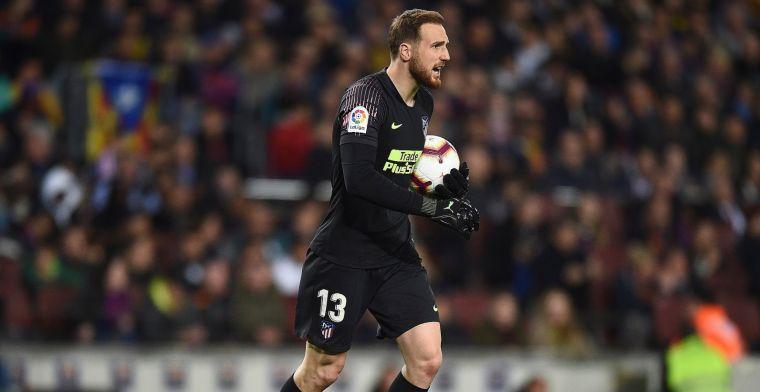 'Oblak denkt aan vertrek bij ambitieloos Atlético, Man Utd bestemming'