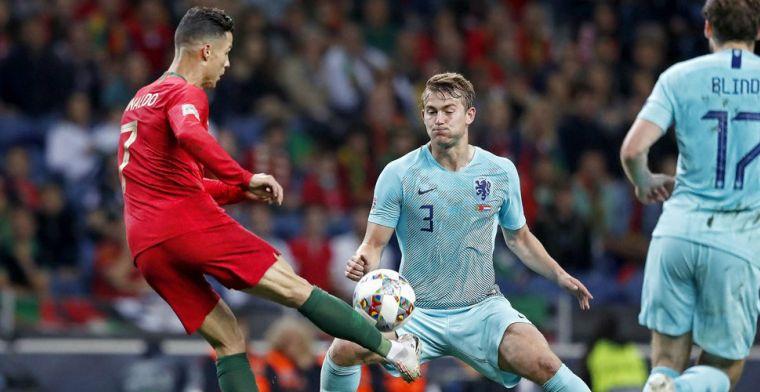 'Ik kan me voorstellen dat Ronaldo het niet leuk vindt dat De Ligt het roept'