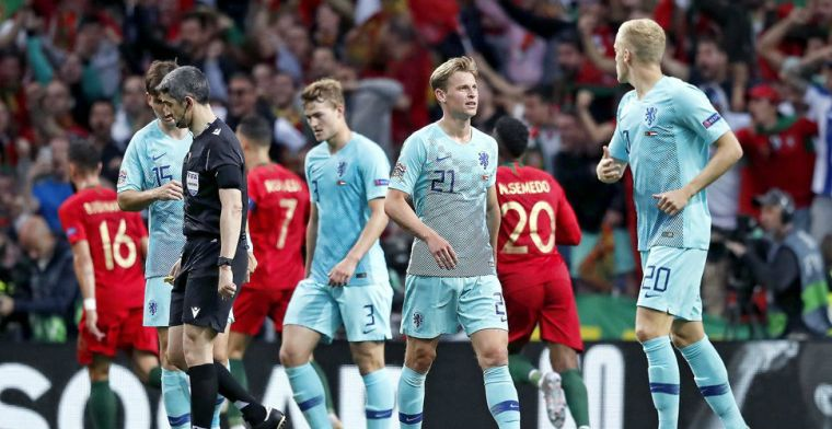 Hoe de uitstapfout van De Ligt fataal werd en Oranje de kop kostte tegen Portugal