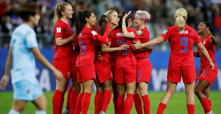 VS pijnigen Thailand en breken WK-record: 13-0 (!) voor wereldkampioenen