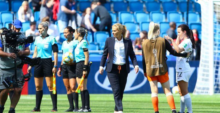 Onvrede bij bondscoach over 'wandelende' Oranjevrouwen: Heel slordig
