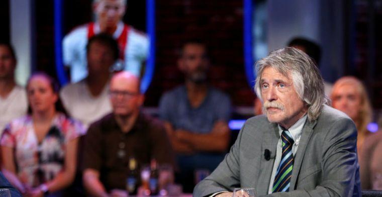 'Ik heb alles aan Johan Derksen te danken, die ontmoeting was heel belangrijk'