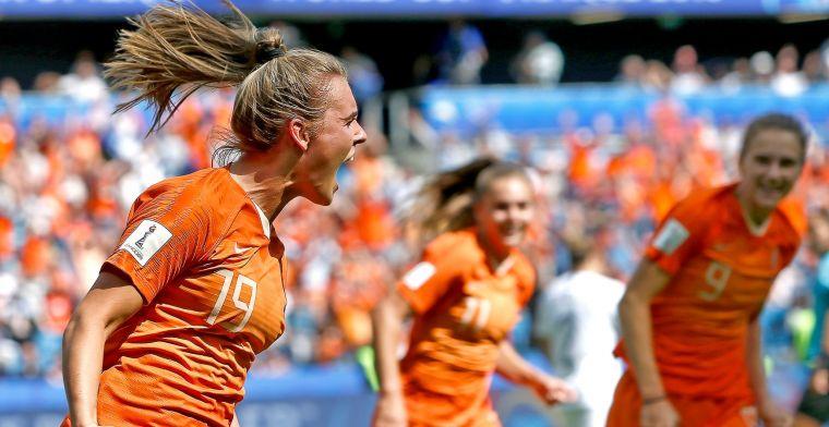 Supersub Roord kopt Oranjevrouwen in 92e minuut naar zege op Nieuw-Zeeland