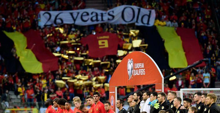 Fans van Rode Duivels pakken uit met knappe hommage aan 'Legend' Lukaku