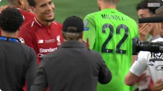 Ultieme feelgood: zes minuten Klopp na gewonnen Champions League-finale