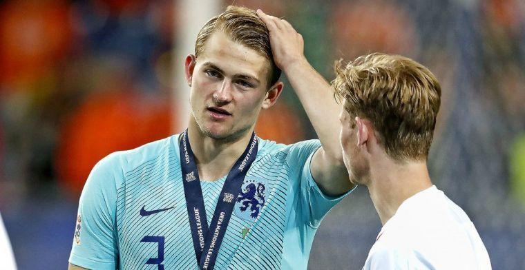 Raiola reageert op vermeende transfer De Ligt: 'Het is allemaal fake news'