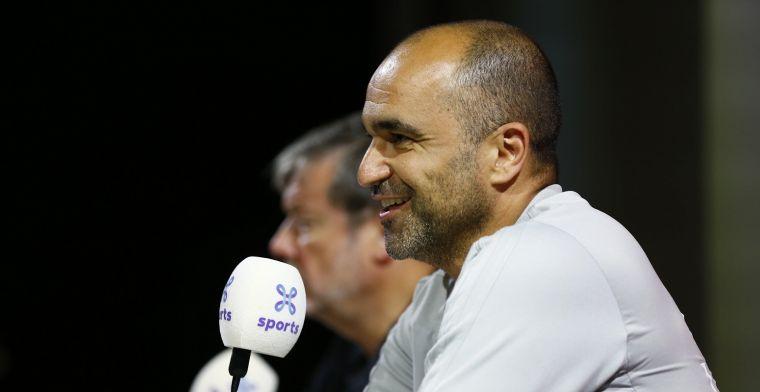 Martinez geeft pluim aan Rode Duivel: Ben soms triest dat hij niet geniet