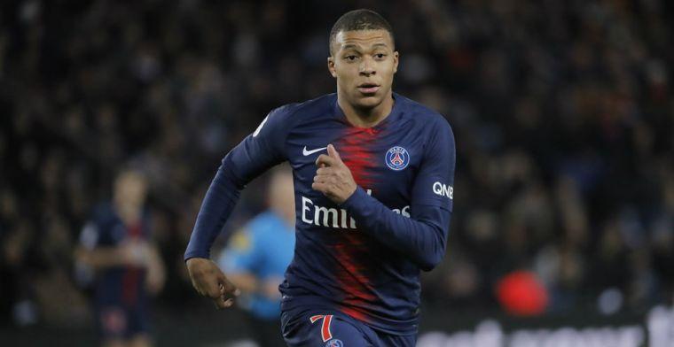 Mbappé rekent af met 'fake news': 'Vergeten dat ik alleen als doelman wil spelen'