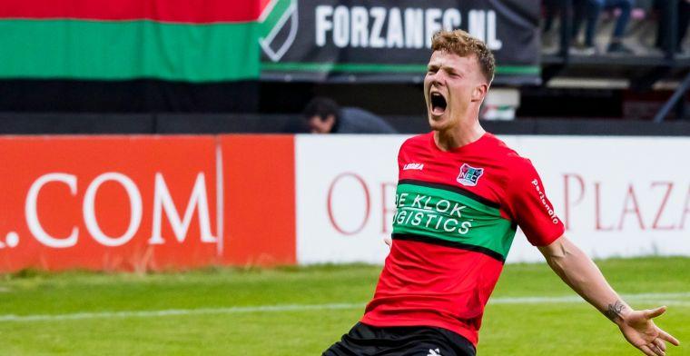 'Er is veel interesse van andere Eredivisie-clubs, maar ik ben niet te huur'