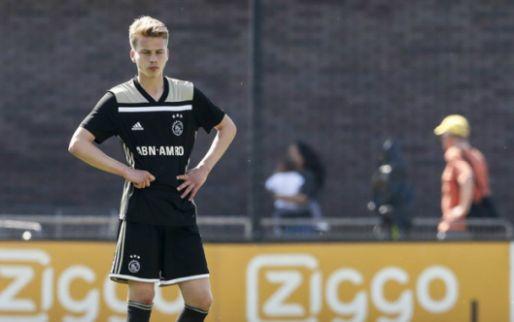 Afbeelding: Ajax-middenvelder (17) kiest voor Vitesse: 'Zag niet echt een toekomst meer'