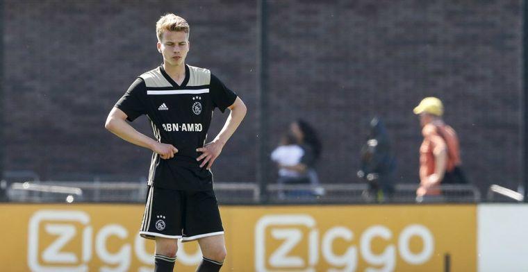 Ajax-middenvelder (17) kiest voor Vitesse: 'Zag niet echt een toekomst meer'