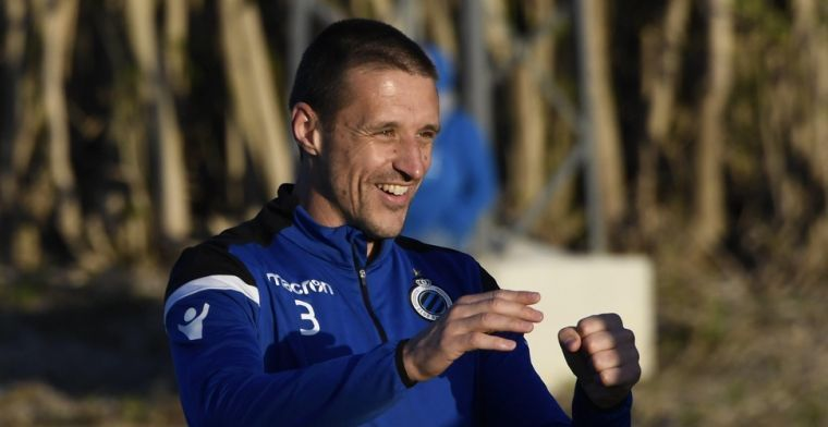 'Simons bedankt voor job bij Lommel en blijft bij Club Brugge'