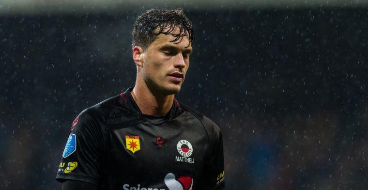 Gedegradeerde Mattheij praat met Eredivisie-club: 'Gaat om beste gevoel'