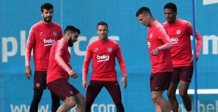 'Barça grijpt naast De Ligt en schuift interne kandidaat Todibo naar voren'