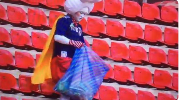 Voetbalwereld sluit Japanse fans weer in het hart: schoonmaakrondje na wedstrijd