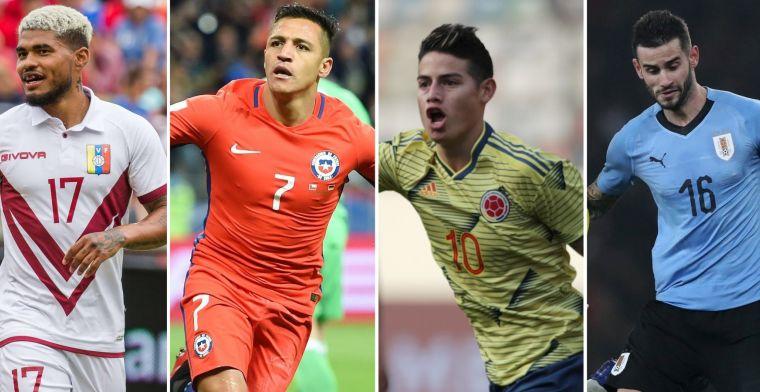 Copa América begint: Neres, Pereiro en 5 andere spelers om in de gaten te houden