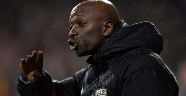 OFFICIEEL: Makelele is niet langer meer de trainer van KAS Eupen