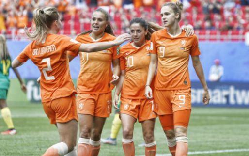 Afbeelding: All-time topscorer Miedema helpt weinig sprankelend Oranje naar tweede ronde